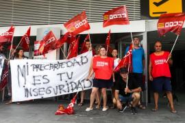 Denuncian la contratación de eventuales para suplir al personal de seguridad en el aeropuerto de Ibiza