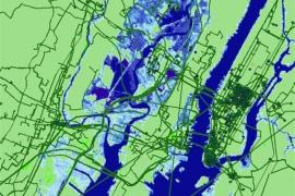 Buena parte del Internet físico peligra por la subida del mar