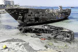 Sant Antoni dice que la playa de Es Caló des Moro no se abrirá hasta que lo autorice Emergencias