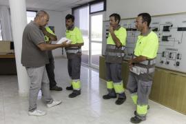 Los trabajadores de las depuradoras se plantan y convocan una huelga indefinida