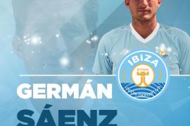 Germán Sáenz, nuevo delantero de la UD Ibiza