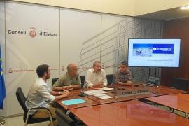 Un estudio del Consell detecta posidonia «muerta» en 19 de 43 calas de Ibiza