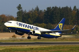 Ryanair deberá operar hasta el 59% de vuelos nacionales e internacionales durante la huelga
