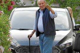 Juan Carlos I, todo listo para su llegada a Mallorca