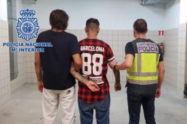 La Policía Nacional detiene en Barcelona a un prófugo italiano que distribuía drogas en Ibiza
