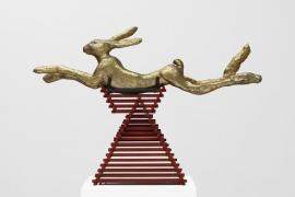 Barry Flanagan llena de talento la Tate Gallery
