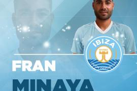 Fran Minaya, nuevo jugador de la UD Ibiza
