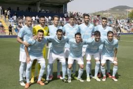 La UD Ibiza pelea por la plaza del Lorca en Segunda B