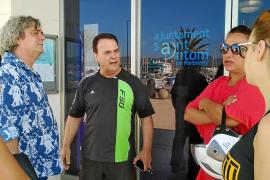 Empresarios de es Caló des Moro no descartan denunciar las pérdidas económicas tras el siniestro
