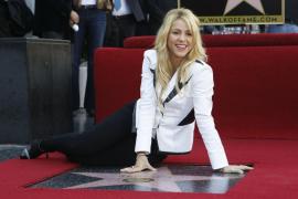 Shakira recibe su estrella en el Paseo de la Fama de Hollywood