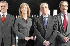 Los partidos minoritarios del Parlamento culpan por igual a PSOE y PP de la crisis