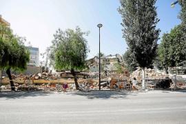Las últimas viviendas de Santa Margarita, convertidas en escombros