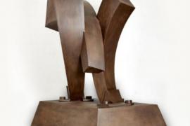 Jaume Marí, Marco Zurita y Pedro Juan Hormigo, tres escultores del metal para el Far de ses Coves Blanques