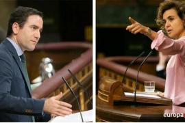 Teodoro García, nuevo secretario general del PP, y Dolors Montserrat, nueva portavoz en el Congreso