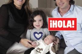 Arantxa Sánchez Vicario presenta a su segundo hijo, el pequeño Leo