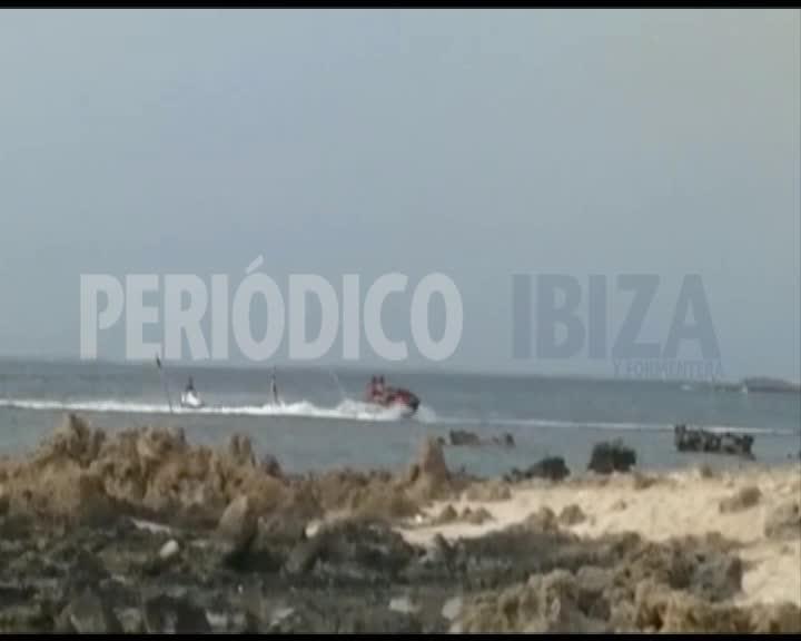 Vídeo | Motos acuáticas a su aire en s'Estany des Peix