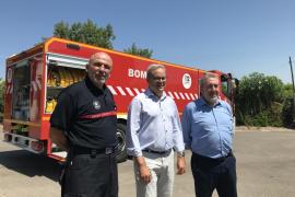Nuevo vehículo autobomba para el Parque de Bomberos de Ibiza