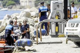 Hallan el cadáver de una persona de origen asiático flotando en la playa de es Pouet