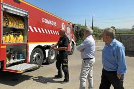 Los bomberos de Ibiza incorporan un nuevo camión autobomba con mayor capacidad