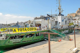 Greenpeace ha registrado 50 denuncias de fondeos sobre posidonia en apenas 15 días