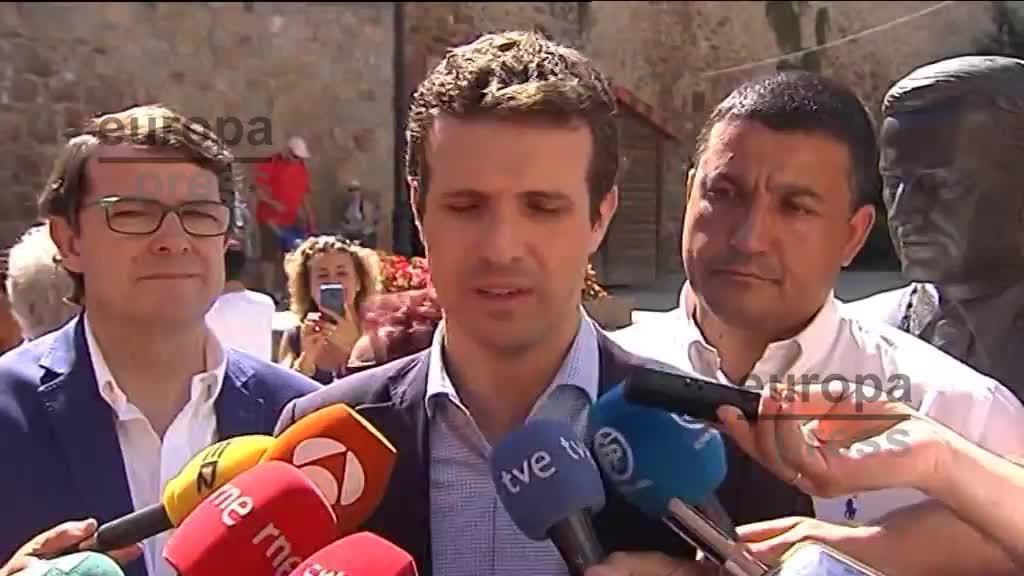 """Casado afirma que """"ha acabado"""" el """"período de gracia"""" para el Gobierno"""