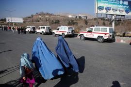 Al menos ocho muertos por la explosión de una mina al paso de un autobús en el sur de Afganistán