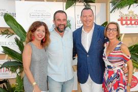 Isabel Busquets, José Luis Mateo, César Soto y Cristina Pérez.