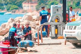 Investigan la identidad del cadáver hallado hace cinco días flotando en es Pouet