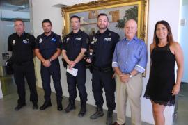 La Policía Local de Sant Antoni incorpora tres nuevos agentes