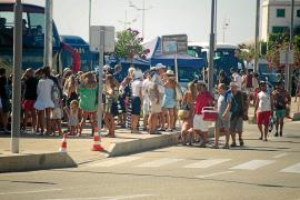 El número de cruceristas en el puerto de Ibiza cae un 12 por ciento en el primer semestre del año