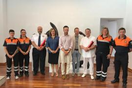 Mención Honorifica Especial de Vila al pintor Carloandrés y a Protección Civil