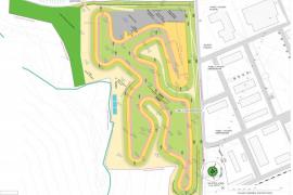 El Consell proyecta un circuito en el Parque de Servicios de sa Coma