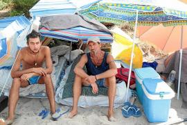 Asentamiento en la Playa de Palma