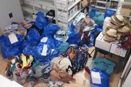 Sant Josep decomisa 300 kilos de material de venta ambulante hasta julio