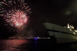 El muelle comercial del puerto de Ibiza se abrirá al público para ver los fuegos artificiales