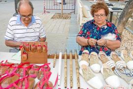Artesanos de la isla muestran su trabajo de valor incalculable en s'Alamera