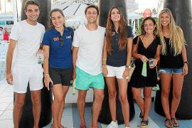 Raúl Ledesma, Andrea Castañer, Yago Blas, Laura Cobos, Sofía Corral y Josefa Valverde.