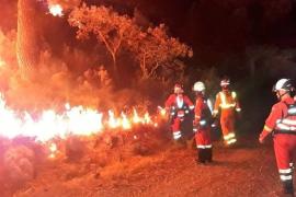 El fuego de Llutxent calcina más de mil hectáreas