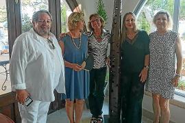 Exposición de obras de Pilar Cerdà y Miguel Reche en el hotel Bendinat