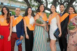 Ceremonia de graduación en la Facultat de Turisme»