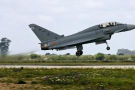 Un Eurofighter español dispara accidentalmente un misil durante una misión de adiestramiento en Lituania