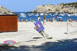 Sant Josep prepara un proyecto de «mejora y reordenación» para Cala Vedella