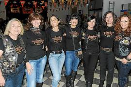 Cena solidaria de las Ladies de Harley Davidson en Llucmajor