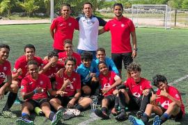 Fútbol ibicenco en el Caribe
