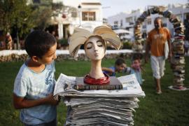 El proyecto 'biblioteca libre' se estrena en Sant Carles para reivindicar el derecho a la lectura