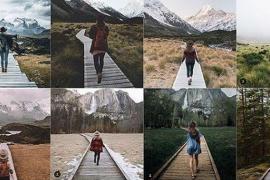 Una joven se crea una cuenta de Instagram para criticar la originalidad en las fotos que publicamos