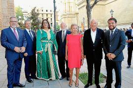 Recepción de los Reyes en La Almudaina»
