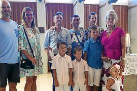 Pregón de fiestas en Can Picafort a cargo de Alfonso de la Torre