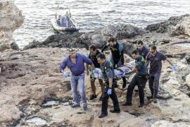 Muere un joven británico de 24 años al precipitarse contra las rocas en Cala Gració