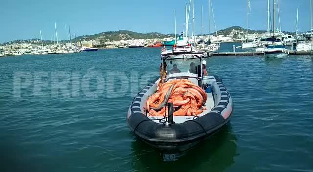 Vertido de fecales en el puerto de Ibiza